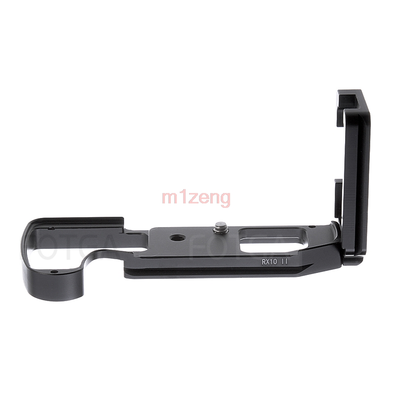 RX10M2 Quick Release L Plate/Bracket Holder hand Grip L-Shaped for Sony RX10 II RX10II RRS SUNWAYFOTO Markins