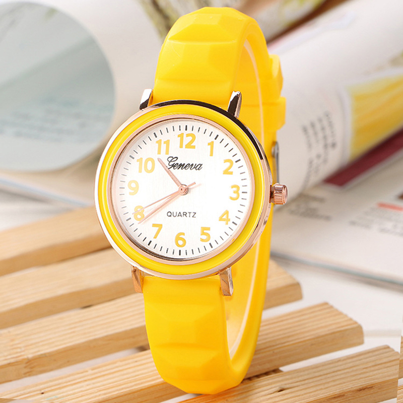 Cute Cartoon Fashion Silicone Children's Watches Sport Casual Womans' Watch Quartz Clock for Girls Female Student Children reloj