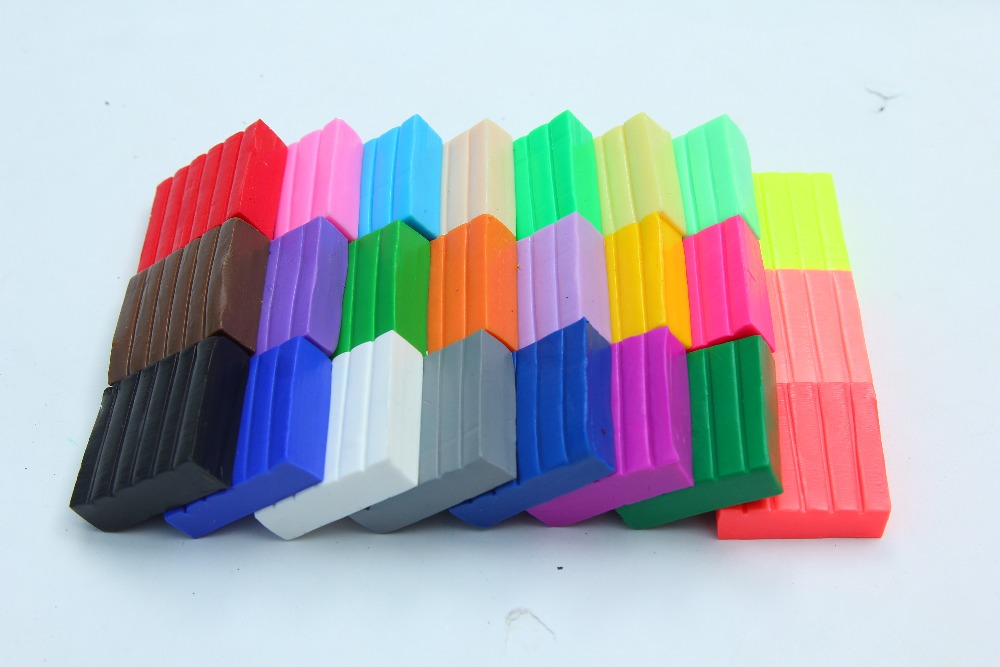 Liyuan hornear Fimo arcilla polimérica 500g suave Diy horno hornear plastilina de arcilla de colores niños niñas juguetes educativos