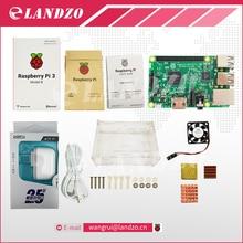 E Raspberry Pi 3 Модель B starter kit-pi 3 доска/pi 3 случай/Американский стандарт питания питания/радиатора