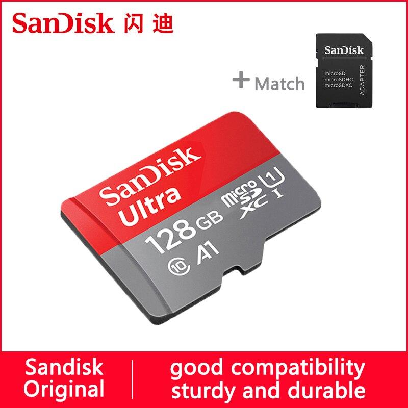 Micro Sd Karte Handy.Sandisk Micro Sd Karte 64 Gb 100 M 16 Gb 32 Gb 128 Gb 256 Gb 200 Gb 400 Gb U1 Klasse 10 Speicher Karte Microsd Flash Tf Karte Für Handy Special