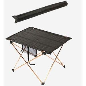 Image 3 - Складной стол для кемпинга, водонепроницаемый ультралегкий прочный складной столик из алюминиевого сплава для пляжа и пикника, барбекю