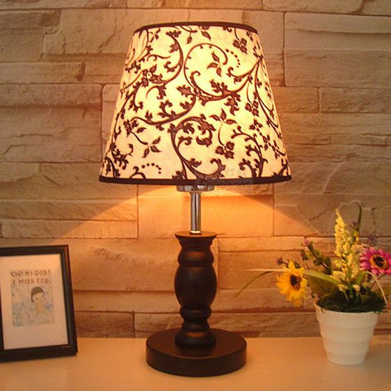 european country rustic contracted creative modern bedroom beside table light fabric study room