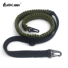 hand made Adjustable Paracord Rifle Gun Sling Strap With Swivels  Tactical hunting gun camping equipment edc survive
