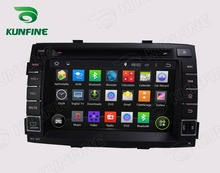 Quad Core1024*600 Android5.1Car DVD GPS Navigation Player for SORENTO 2011 Radio Bluetooth 3G Wifi Steering Whee lControl Remote
