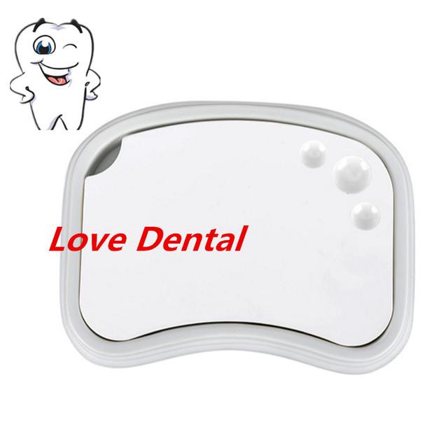 1 pc Dental lab Dental material Cerâmico De Alta qualidade Paleta placa de mistura de corante em pó mistura ferramenta