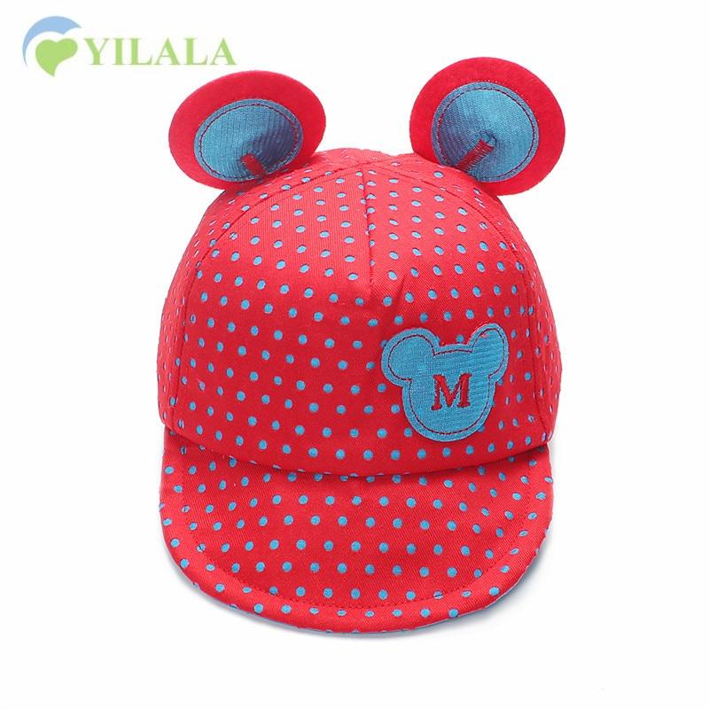 Neue Baby Mütze Cartoon Sommer Hut Für Kinder Stickerei Jungen - Babykleidung