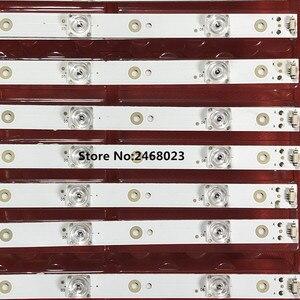 Image 4 - 1 סט = 12 חתיכות LED תאורה אחורית רצועת עבור 50A6 LE50U51A אור בר 30350006205 LED50D06 ZC14AG 01