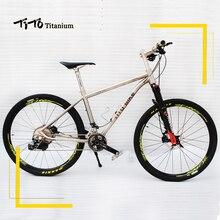 TiTo 142 12 rear axle titanium alloy MTB bike 26 27 5 wheelset M8000 suits 22or33