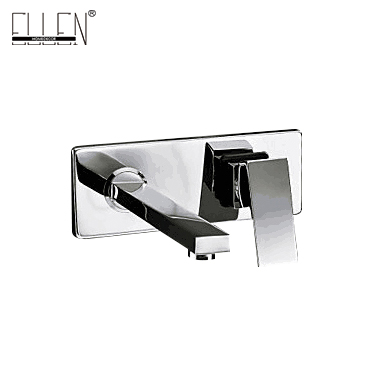 Square Wall Mounted Water Tap Bathroom Faucet Mixer square wall mounted water tap bathroom faucet mixer