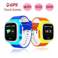 RUIJIE Q90 Child Smart Watch GPS Location Device 1 22 Inch Color Touch Screen SIM Card