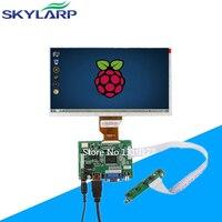 Skylarpu 9''Inch Raspberry Pi LCD Display Screen TFT Monitor AT090TN10 HDMI VGA Input Driver Board Controller Free shipping