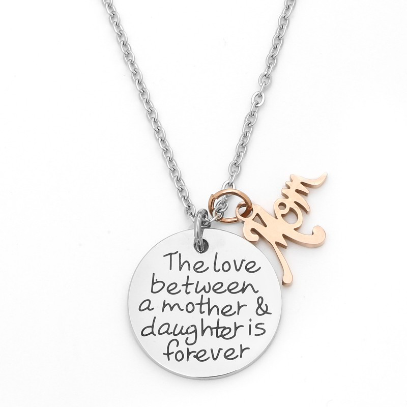 Mother Daughter Necklace The Love Between A Mother And Daughter Is
