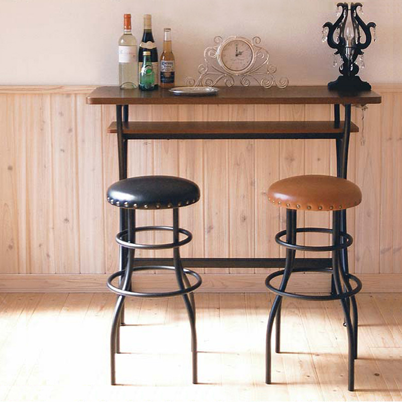 Charming Bar Tables, Wrought Iron Bar Stools Combination Mini Bar Breakfast Table  High Bar Tables Imported Retro Coffee Table In Patio Umbrellas U0026 Bases From  ...