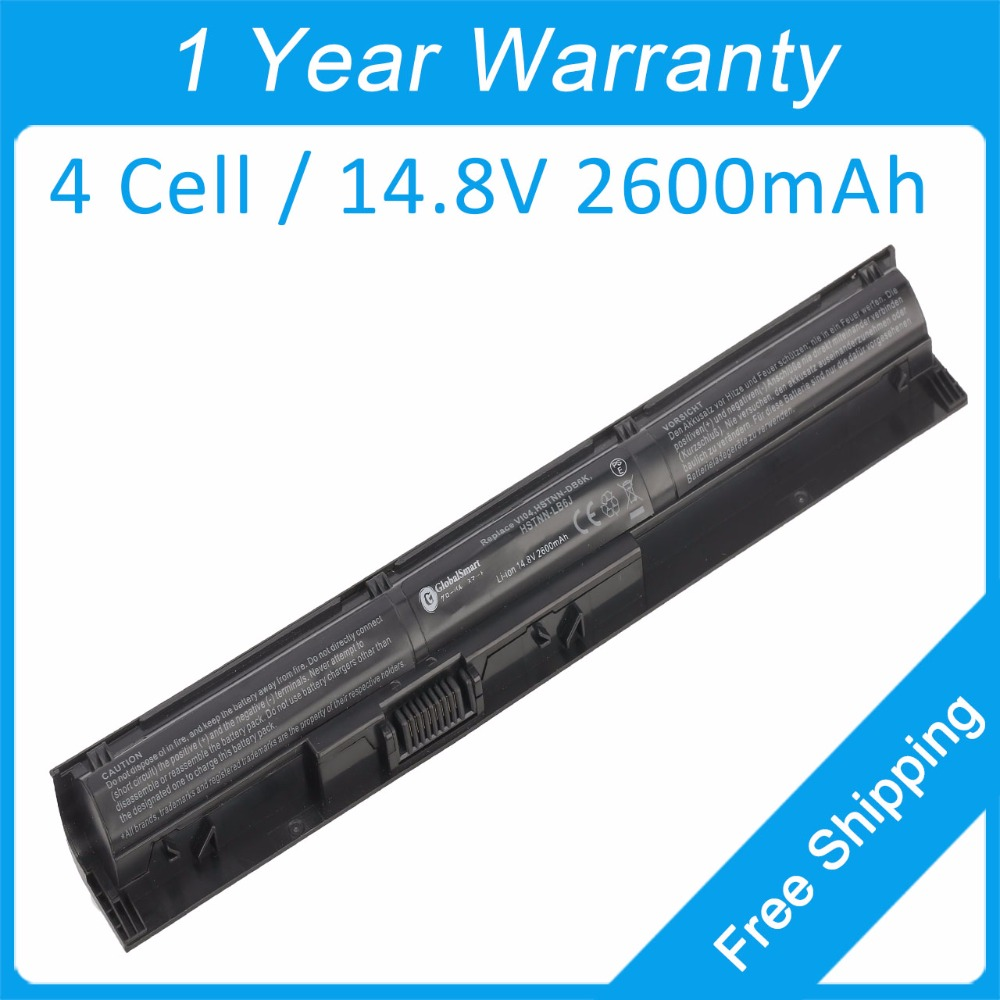 New 2600mah laptop battery for hp Pavilion 14t-v000 14t-v100 15-p000 15-p100 17-f000 17-f100 756745-001 HSTNN-LB61 TPN-Q141 ...