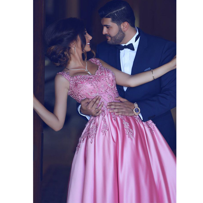 Lebanon Engagement Party Dresses Dubai Abaya Lace Long Prom Gowns ...