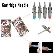 20 pcs Disposable Tattoo Cartridge Needles RL Rotary Pen Sterile Needles Tattoo Supply недорого