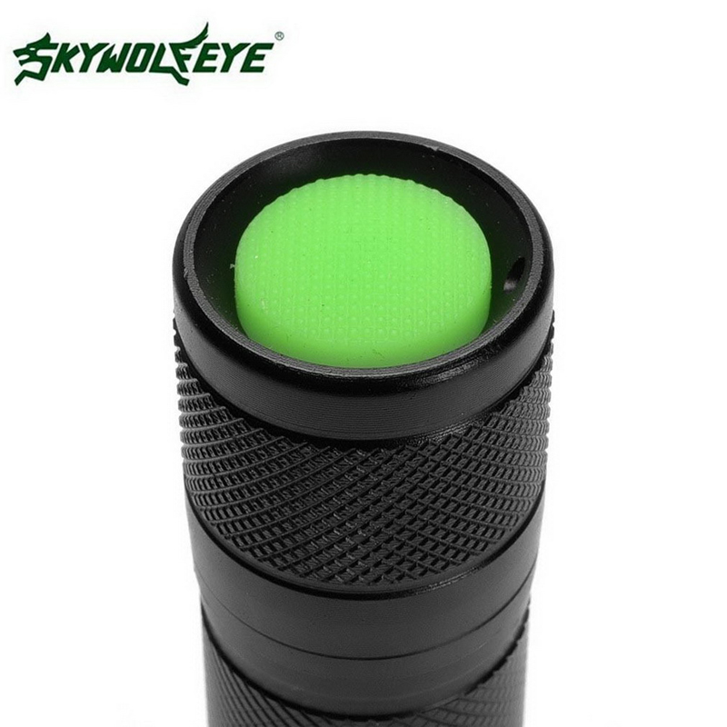 High Quality Skywolfeye Brand Outdoor Flashlight XPE LED 18650 Tactical Flashlight Zoomable Aluminum Alloy Flashlight