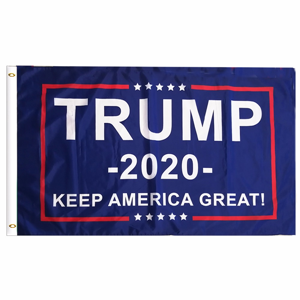 9079c37f9f5 Trump 2020 Flag Double Sided Printed Donald Trump Flag Keep America Great  Donald For President USA