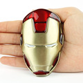 Senmi Brand Buckles Iron Man Mens Vintage Western Comics Mask Removable Metal Belt Buckles