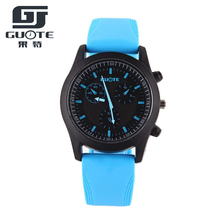 2016 New Fashion Sport Men Watch Women Casual Silicone Candy Wristwatch Ladies Student Jelly Geneva Gift Watches 6 Colors Reloj