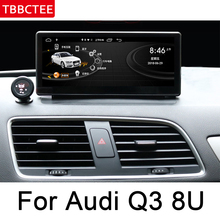 For Audi Q3 8U 2013~2018 MMI Car Multimedia Player GPS Navigation IPS Android Original Style HD Screen 2GB+32GB WiFi BT Radio цены онлайн