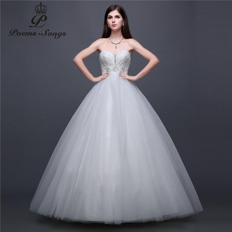 Poemssongs реальные фото шелковистой органзы и атлас с открытыми плечами Свадебные Платья Vestidos De Noiva свадебное платье