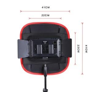 Image 4 - Meking pliable Softbox 40*40cm pour Yongnuo YN600 YN900 panneau de lumière LED modificateur déclairage Portable pour Studio