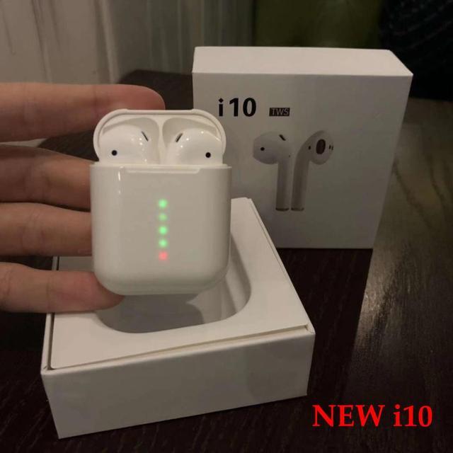 05bc0a1c00f 10 TWS 1:1 Auriculares auriculares inalámbricos auriculares Bluetooth 5,0  Super Bass Auriculares auriculares para teléfono PK i11 i12 i13 TWS  auricular