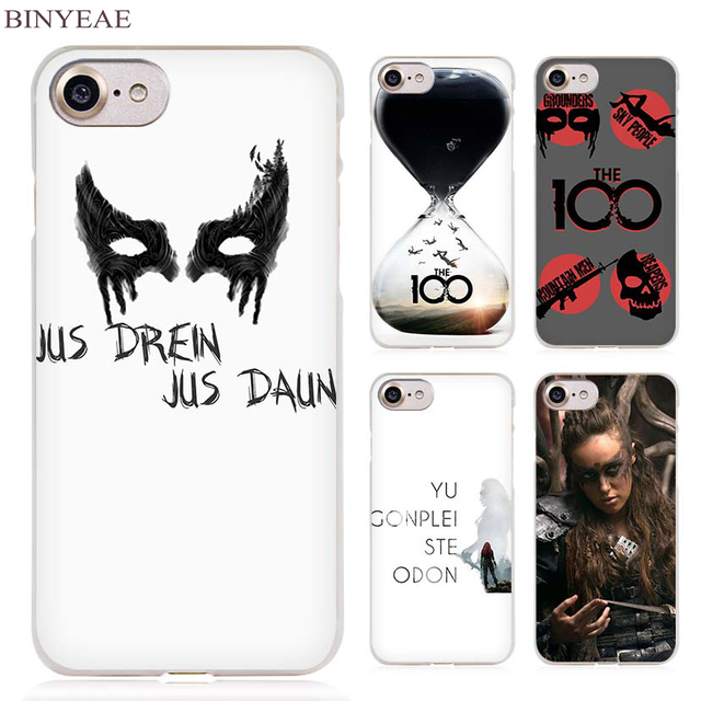 BINYEAE Heda Lexa The 100 Clear Cell Phone Case Cover for