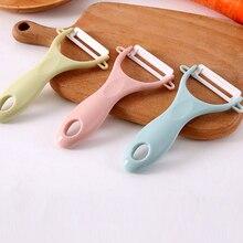 1 шт., креативный керамический нож для фруктов, Овощечистка для быстрой очистки, кухонные инструменты для дома