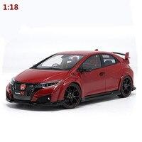 Высокая моделирования HONDA Ebbro Тип R Коллекция Модель 1:18 advanced сплава Модель автомобиля, литья под давлением Металл игрушечный автомобиль, бес