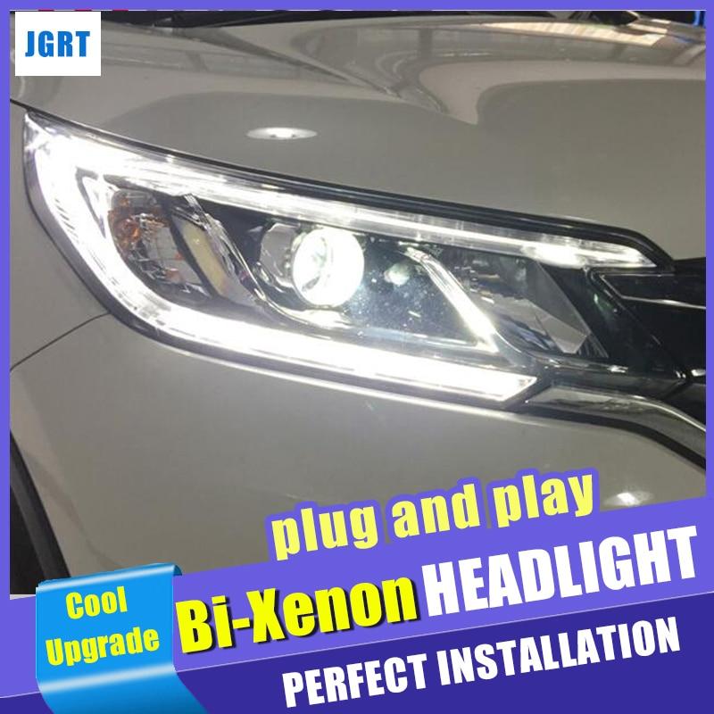 head light Accessories car Styling for Honda CR V LED Headlight 2015 For CRV 2016 LED