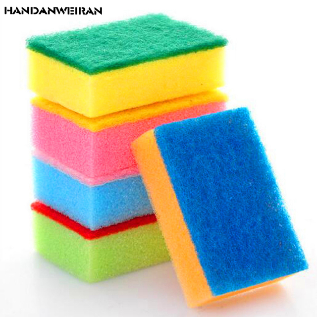 10pcs Melamine High Density Sponge, Various Colors Of Magic Kitchen, Clean  Hands Cleaning Kitchen