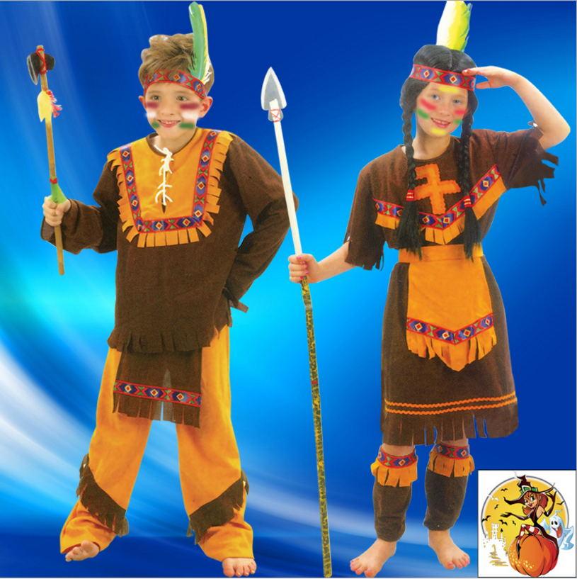 & Little Indian Boy Halloween Costumes