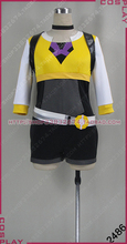 2016 High Quality Hot GO Cosplay Costume female trainer Costume Yellow Version Team Valor Cosplay Costume