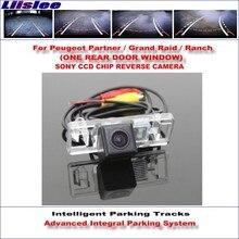 Liislee Rear Reverse Camera For Peugeot Partner / Grand Raid Ranch HD 860 * 576 Pixels Intelligent Parking Tracks