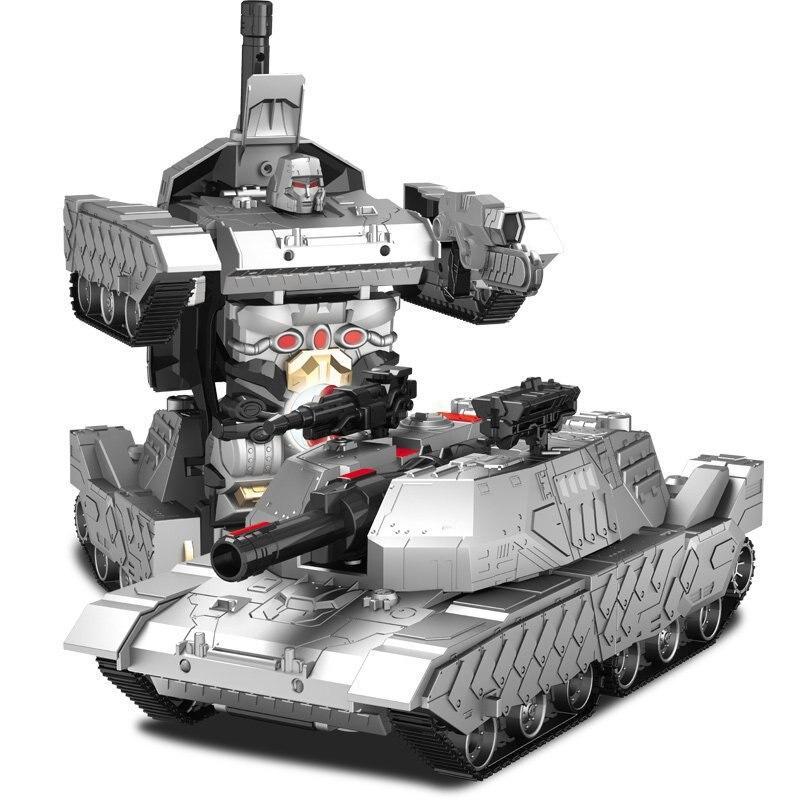 One-Key Transform RC Robot Tank Classic R/C Radio Remote Control Tiger RC Tank Model 1:14