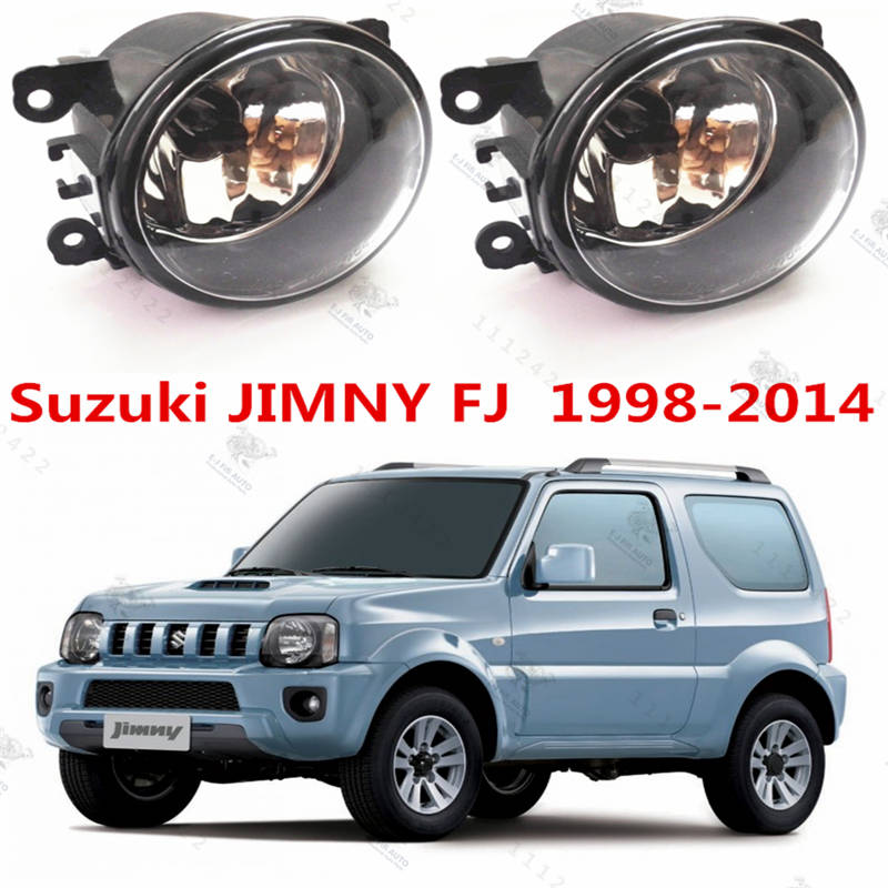For SUZUKI JIMNY FJ  2005-2015  Front Halogen Fog Lamps Fog Lights Car Styling 1 set  35500-63J02  1209177  8200074008