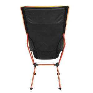 Image 4 - 11.11 Deals Portable Outdoor Folding Camping Chair Support 360lbs High Mesh Back with Carry Bag
