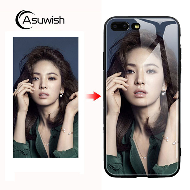 low priced 251fa 6c97e US $6.22  Custom Phone Case For Apple For iPhone 6 6s 7 8 X S XS XR Plus  Max iPhoneXR iPhoneXS 6splus 7plus 8plus XSmax Tempered Glass-in Fitted  Cases ...