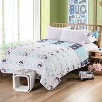 2016 Fruit Crown Monkey Pattern Blanket 150 200 180 220cm Factory Direct Fabric 100 Cotton Yarn