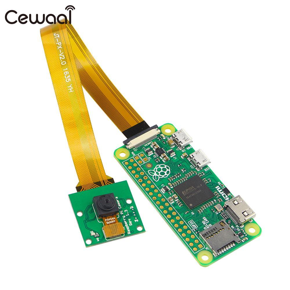 CEWAAL 5MP Camera Module Circuit Board Panel With Cable Line 15CM For Raspberry Pi Zero