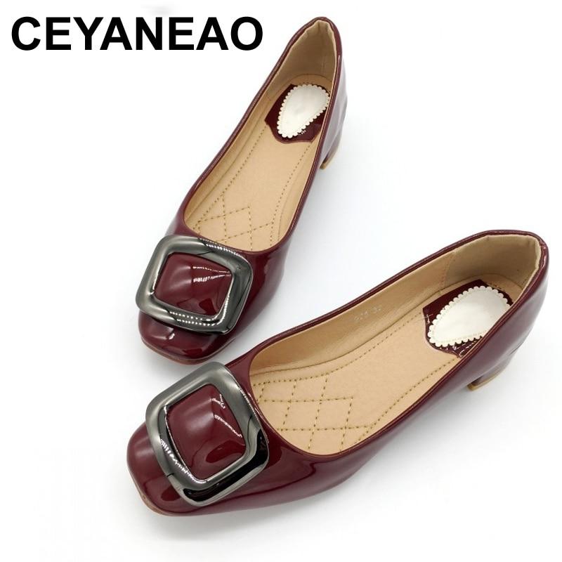 CEYANEAO2018Spring Autumn Women Pumps Shoes
