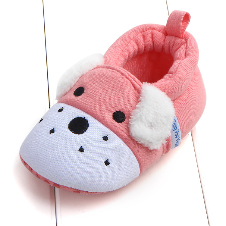First Walkers Baby Shoes Cotton Anti-slip Booties Baby Girl Boy Shoes Animal Cartoon Newborn Slippers Footwear Booties Kids Gifts (9)
