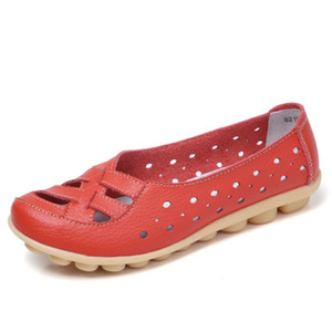 Women Flats Genuine Leather Wo