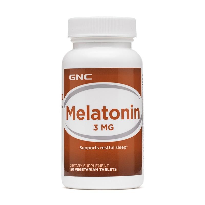 Image 2 - Free Shipping Melatonin 3 mg supports restful sleep 120 pcs    -
