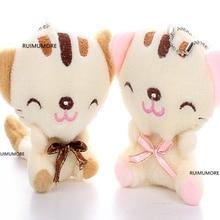 3 цвета-7 см кошка плюшевая мягкая игрушка животных, детская игрушка, детский подарок плюшевые игрушки
