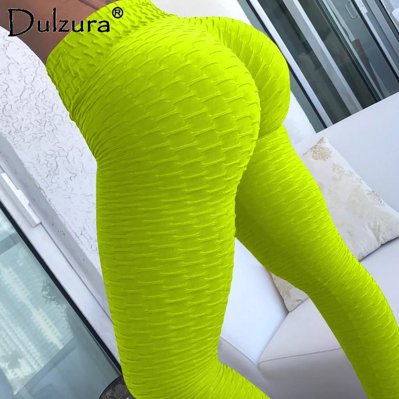 Dulzura Push Up Fitness Workout Leggings Women Sexy Elastic Casual Legins Sportswear Sporting 2018 Summer leggins