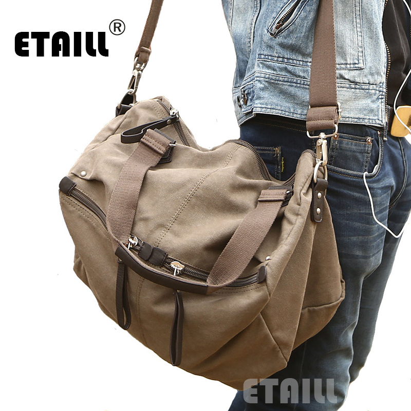 Large Canvas Shoulder Bags Casual Style for Women Men Canvas Handbags Luxury Famous Designers Brand Bag With Logo I AM LEGEND casual style print and canvas design satchel for women